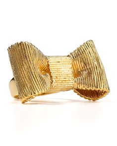 Kate Spade New York All Wrapped Up Ring l wantering.com