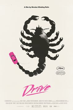 Cory Schmitz created these amazing Drive posters with Maré Odomo
