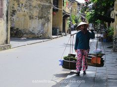 In the streets of Hoi An, Vietnam https://eatwelltravel.wordpress.com