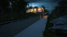 Unreal Engine exterior Night and Day Architectural Visualization