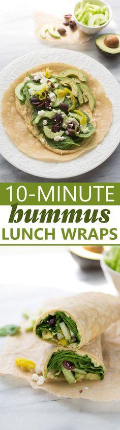 10-Minute Hummus Lun