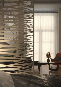 Shop online for unique and custom-made decorative screens for wall decor, room dividers, partitions, garden and privacy screens. Decorative Screen Panels, Decorative Room Dividers, Exterior Design, Interior And Exterior, Laser Cut Screens, Room Partition Designs, Privacy Screen Outdoor, Laser Cut Metal, Architectural Elements