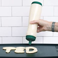 The Pancake Pen: looks like a water bottle to me but I guess it can come in handy?