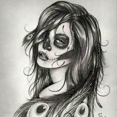 Day of the dead sketch