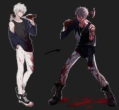 Bloody anime boy Guro (I can't remember who he is...)