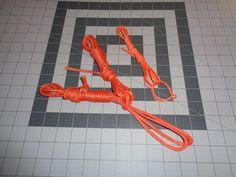 Hammock continuous loops, whoopies slings, and ridge line . Dyneema kit