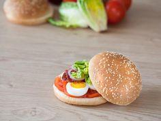 Burger façon English breakfast