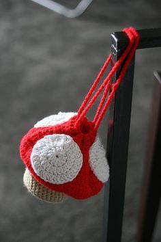 CrazyStars Crafts & Creativity: Mushroom Purse