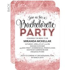He Put A Ring On It Bachelorette Invitation  Bachelorette
