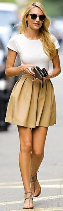 street chic, pleats, need to make a skirt with pleats! On my to do list!