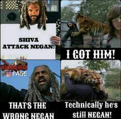 The Walking Dead #TWD he ain't wrong!
