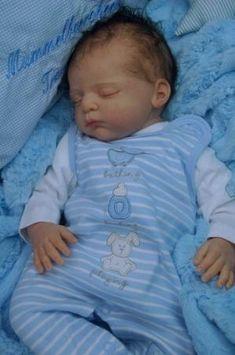 Mummelbaerchens Linus, Reborn Baby Boy, New sculpt by Gudrun Legler, Limited Life Like Baby Dolls, Real Baby Dolls, Cute Baby Dolls, Realistic Baby Dolls, Newborn Baby Dolls, Reborn Baby Girl, Bb Reborn, Reborn Toddler, Toddler Dolls