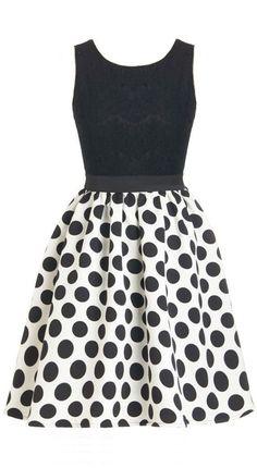 Polka Dot Party Dress So cute!