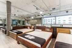 Łóżko bukowe LK 193 Ul, Conference Room, Table, Furniture, Home Decor, Decoration Home, Room Decor, Tables, Home Furnishings
