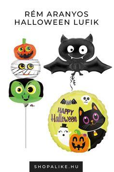 Ha Halloween dekorációdhoz keresel ötleteket, ezek a rém aranyos halloween lufikat neked találták ki. Azon kívül, hogy rendkívül aranyosak még praktikusak is. Nem kell órákon keresztül papírból tököt vagdosni. Irtó aranyos kinézete miatt kicsik és nagyok egyaránt imádni fogják. A ShopAlike Halloween kategóriája idén rengeteg kreatív, aranyos és félelmetes jelmez ötlettel és kiegészítővel vár. Nézd meg te is és inspirálódj! #dekoráció #halloweenbuli
