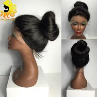 7A Full Lace Human Hair Wigs For Black Women Brazilian Hair Lace Front Wig Silky…