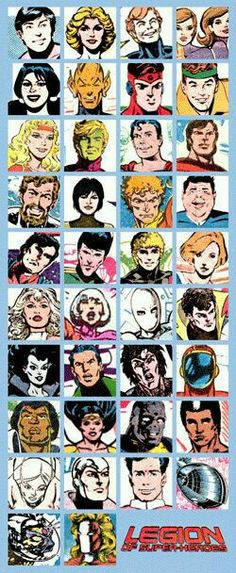 """Legion """"Who's Who in the DC Universe"""" vignettes compiled"""