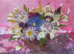 Instagram Pressed Flower Art, Flowers, Painting, Instagram, Flower Preservation, Painting Art, Paintings, Royal Icing Flowers, Painted Canvas