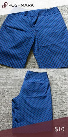 Black/Blue Bermuda Shorts Black/Blue Bermuda Shorts, size 4 Outback Red Shorts Bermudas