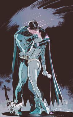 Bruce Wayne / Batman | Selina Kyle / Catwoman