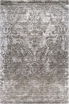 Tilli Area Rug:Wool Area Rug   Item # 14930  Product Description    The classic medallion motif of our Tilli Area Rug is rendered entirely through varied pile height. Constructed of 100% wool, this durable rug from our Royal Collection will add texture and appeal to your decor.  sILVER sHOWN: 8 X 11, $879.00