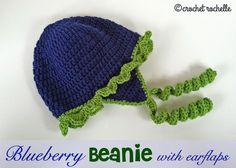Crochet Rochelle: Blueberry Beanie