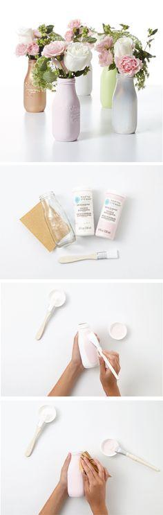 DIY: Milk bottles