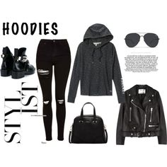 Hoodies by marce104 on Polyvore featuring Victoria's Secret, Acne Studios…