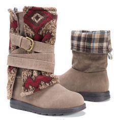 Muk Luks Nevia Convertible Sweater Boots