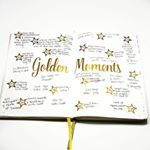 One of my ongoing goals is to be present and focus on the moment I am in  That exact moment is really all you have  If you focus on moments instead of regretting the past or worrying about the future youll find your life is actually made up of some pretty amazing things  I track them in my bulletjournal to remind me of all the good in my life  goldenmoments momentsmatter For me these moments are usually very simpleThe surge of love I feel as I brush through my daughters hair in the…