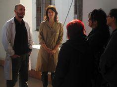 Visita a Salas de Almacenaje, Conservación y Restauración de los Acervos en Papel y Textil del Cabildo de Montevideo. imagen 1