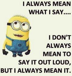 Funny Minion quotes of the hour – 20 pics... - 20, Funny, funny minion quotes,...