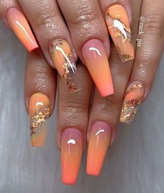 In look for some nail designs and ideas for your nails? Here's our list of must-try coffin acrylic nails for modern women. Long Nail Designs, Acrylic Nail Designs, Nail Art Designs, Nails Design, Almond Acrylic Nails, Summer Acrylic Nails, Long Gel Nails, Coffin Nails Long, Ballerina Nails