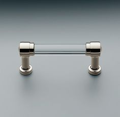 """I like these to potentially use for drawers inside the closet.  Grafton Clear Glass Pull- in 6 or 8"""""""
