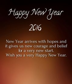 Happy New Year - Latest Sms 2016