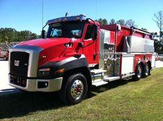 Cat CT660 Fire Truck