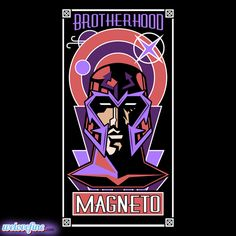 Magneto Brotherhood and other Marvel designs at Welovefine.com by Matthew J Parsons.