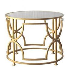Worlds Away Tess Gold leaf Cocktail Table - my Tess tables have arrived in Perth from the States...OMG...cannot wait to have them in my home!!!