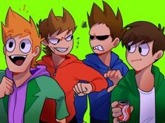 Tord, Tom, Matt, and Edd.