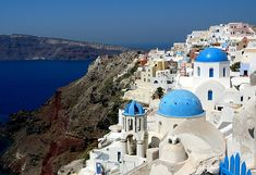 Greece! have always wanted to go. what a beautiful place.