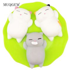 Gags & Practical Jokes 10-20pcs Soft Extrusion Bread Toys Squishy Slow Rising Toy Key Chain Anti Stress Anxiety Bakery Cake Donuts Rebound Key Ring A Great Variety Of Goods Toys & Hobbies