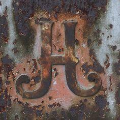letter H by Leo Reynolds, via Flickr