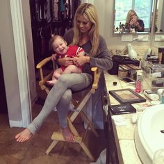 Pin for Later: Tarek and Christina El Moussau0027s Sweet Family Moments Will  Make You Melt When Brayden Helped His Mom Get Ready