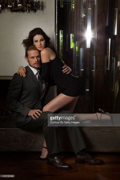 New Outtakes of Sam Heughan and Caitriona Balfe from EMMY Magazine