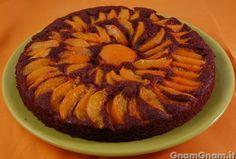 • Torta al cacao e albicocche - Ricetta Torta al cacao e albicocche di GnamGnam