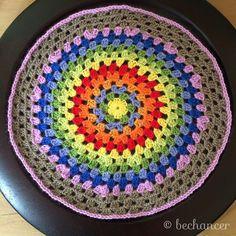 bechancer crochet granny circle
