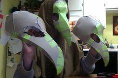 paper mache cosplay - Buscar con Google