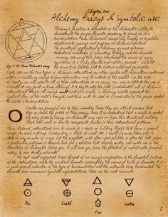 A beginners guide to alchemy, chapter 1