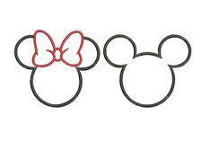 image 0 Mickey Tattoo, Mickey And Minnie Tattoos, Disney Tattoos Small, Small Tattoos, Little Tattoos, Mini Tattoos, Minnie Mouse Template, Tigh Tattoo, Tattoo Casal