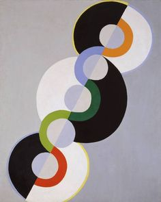 Robert Delaunay, Endless Rhythm, 1934.